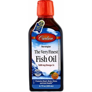 Carlson Fish Oil Liquid Şurup Portakal 200 ml