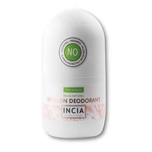 INCIA Doğal Beyazlatıcı Roll-On Deodorant For Women 50 ml