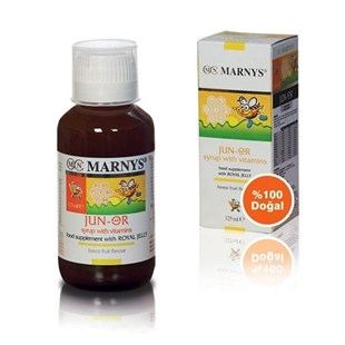 Marnys Junior Multivitamin & Arı Sütü Şurubu 125 ml