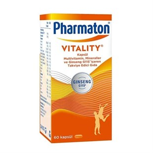 Pharmaton 60 Kapsül Multivitamin